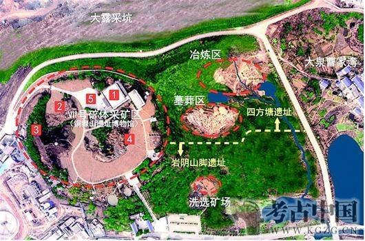 铜绿山遗址公园即将全面开建