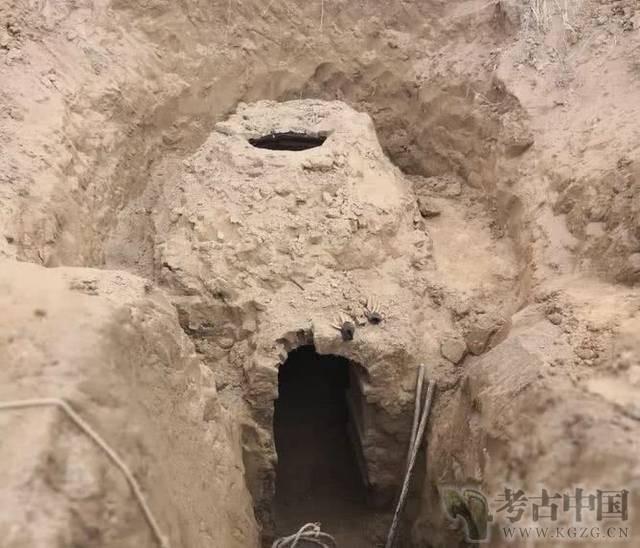 甘肃发现一北宋晚期古墓葬