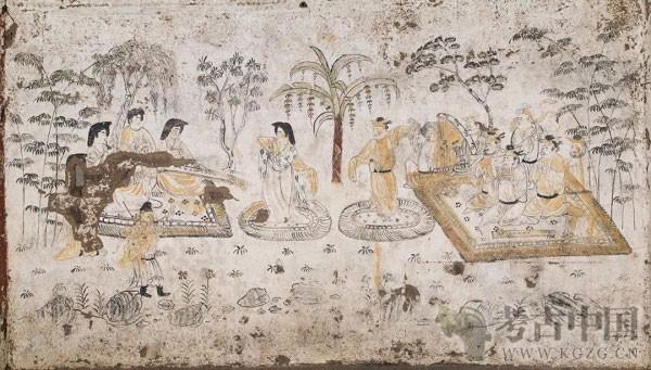 郑岩:唐代韩休墓壁画乐舞图的绘制过程