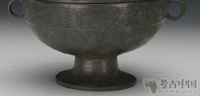 战国 · 几何纹豆(天津博物馆)